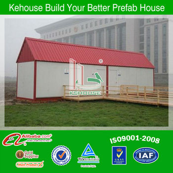 Beautiful and comfortable guangzhou prefabricated home made by eps sandwich panel