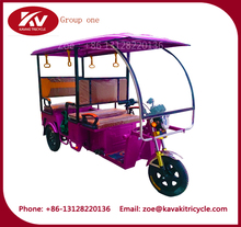 800W 60V five persons electric tricycle 3 wheel 3 seat