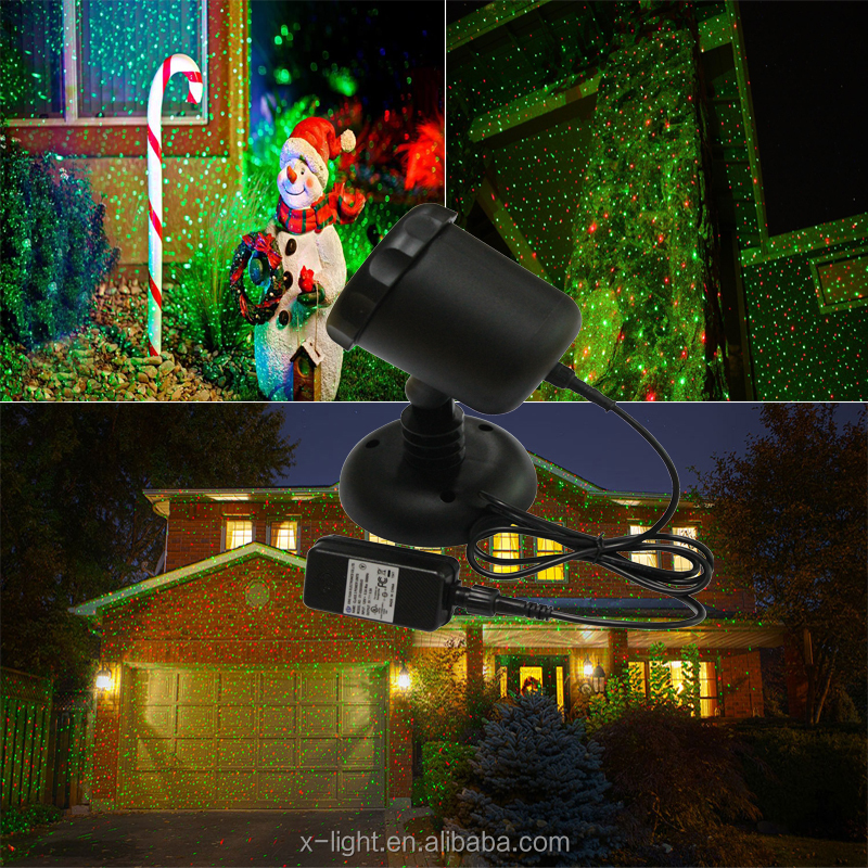 2016 Hottest Christmas Outdoor laser light