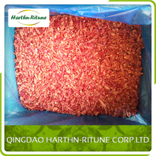 IQF frozen mashed crushed red chili