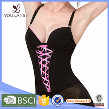 Hot Sales Comfortable black waist trainer women hot images sexy corset