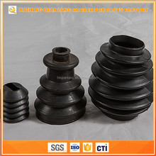 Durable Custom Size Silicone Bellows Rubber Dust Covers With High Quality