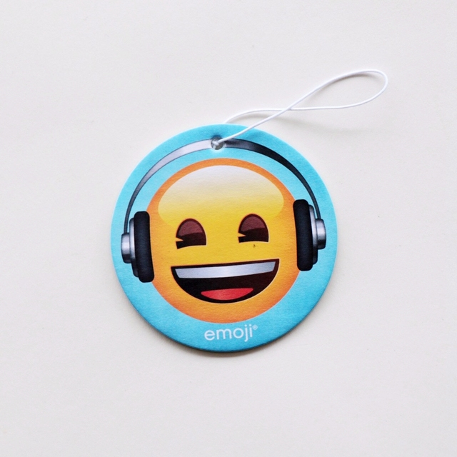 New Products Happy Face Hanging Car Freshener Emoji Paper Air Fresheners