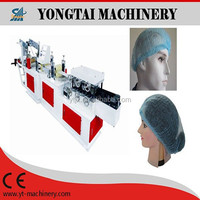 Disposable medical non woven dust cap hat making machine
