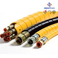 Competitive price colorful weather resistant hydraulic hose guard