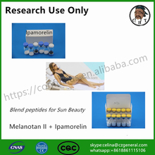 New product blend peptide Melanotan II mix with Ipamorelin for Sun beauty