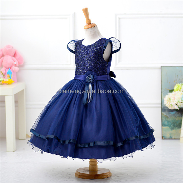 Western most popular pretty sweetheart party ruffle latest dress designs