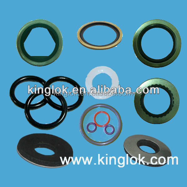 Rubber Sealing Washer EPDM Bonded Washer Bonded Seal Rubber grommet BSP bonded seals NBR and metal bonded seal washers