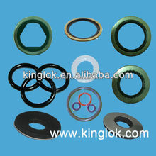 Rubber Sealing Washer EPDM Bonded Washer Bonded Seal nylon shoulder washer BSP bonded seals NBR and metal bonded seal washers