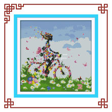 NKF Flower fairy(2) cross stitch office decoration
