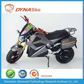 Dynabike Knight X3 - 800~3500W Motor - 20AH Lead Acid Battery - 60Km/h Max Speed - Electric Motorcycle
