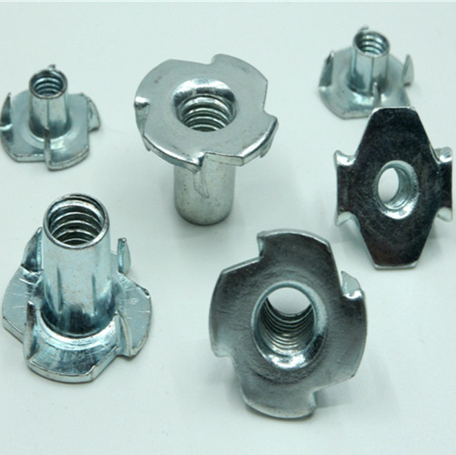 M4 M6 <strong>3</strong> Prong 4 Prong Din 1624 furniture Tee Nut