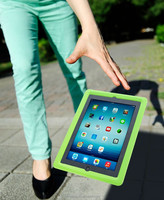 Eco-friendly Shock-Proof Silicone Protective EVA Case for iPad 2/3/4 Green