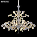 Chandelier LED Light Fixture Creative Shape White Acrylic Lustres Lamp for Dining room Hotel LED Chandelier Lighting MD81775