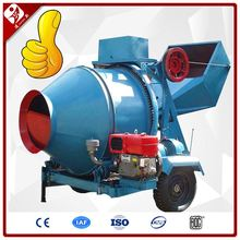 Mobile Qatar Diesel Mini Beton Mixer Supplier Small Concrete Mixing Machine Manufacturer