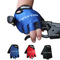 2016 Cycling Gloves Gel Shake-proof Bicycle Gloves Half Finger Mountain Bike Gloves Three Size M,L,XL