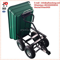 250kgs professional manufacturer plastic folding garden strong cart TC2145