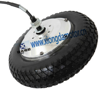 8 inch electric scooter brushless geared bldc hub motor with solid tyre