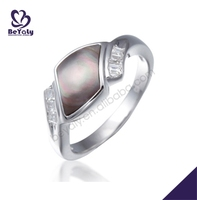 Luxurious birthday souvenirs gemstone jewelry making ring settings