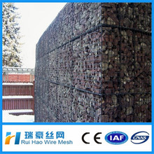 6*8 8*10 gabion basket / gabion wire cages rock retaining wall