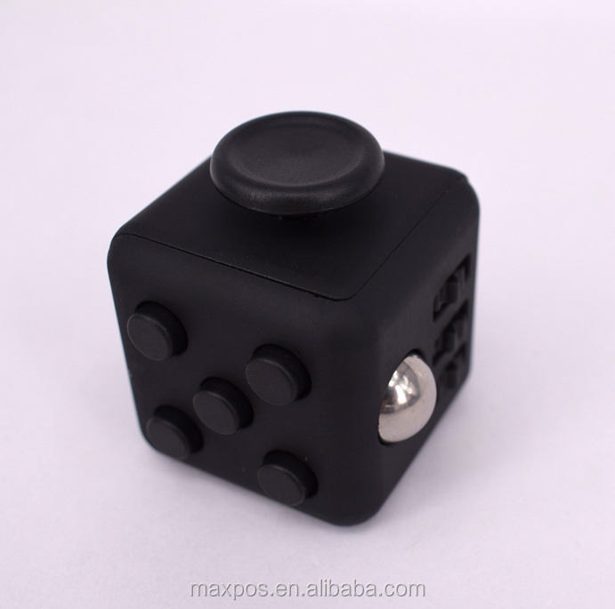 MAX Factory Anti-irritability Relieves Pressure Dice Fidget Cube For Kid Adult new in 2017