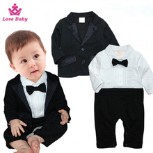 Te negro traje formal party wear clothes muchachos traje de alta calidad