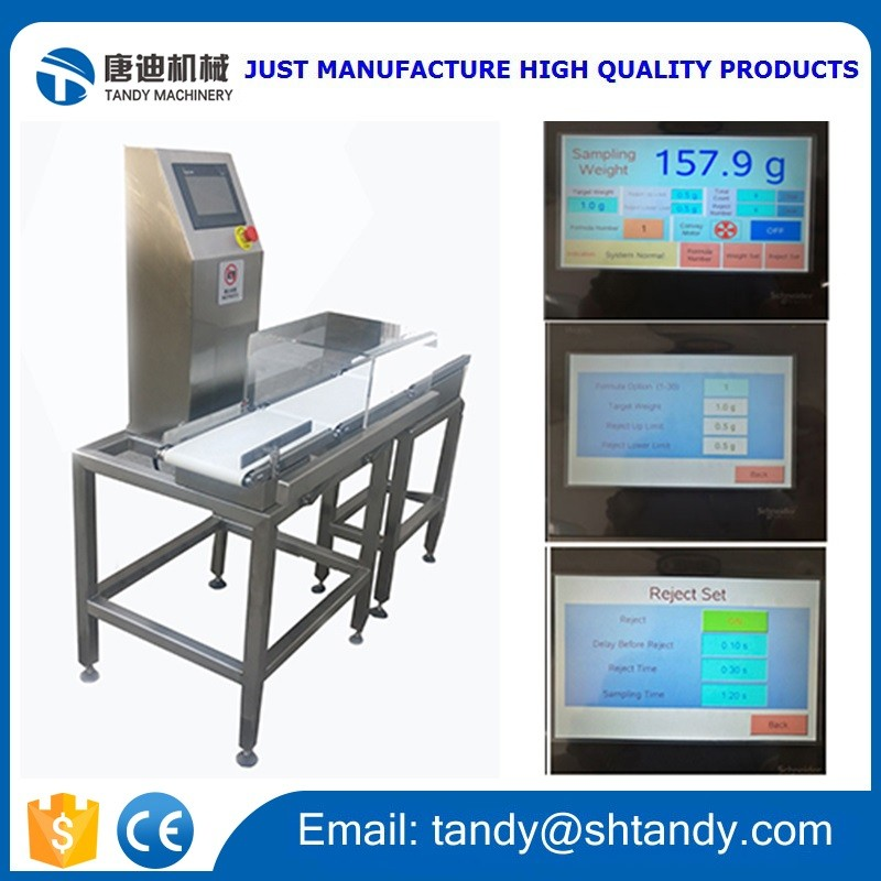 Automatic   check  weigher / Tea  sorting  machine / Belt  conveyor  weight  checker