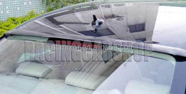 REAL CARBON FIBER ROOF SPOILER FOR AUDI A4 B8 2008-2012 <strong>A006</strong>