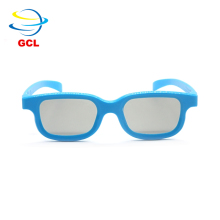 Circular Polarized passive 3d cinema real d 3d glasses for theater