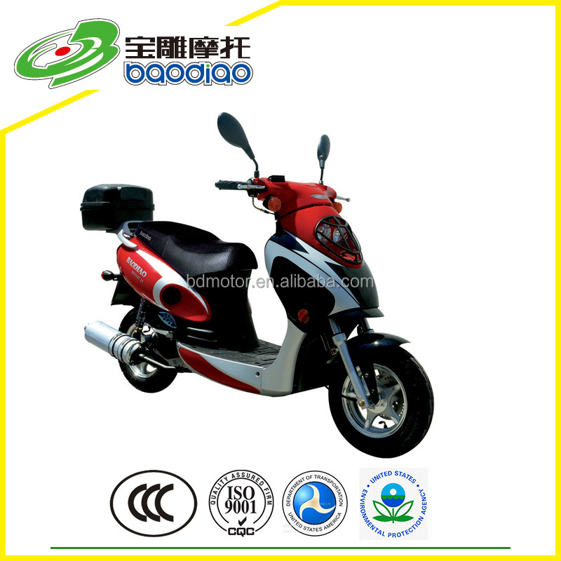 125cc Motorbike Moped Street Bike Chinese Cheap 4 Stroke Engine Gas Scooters 125cc for Sale China Motorcycles Wholesale EPA DOT