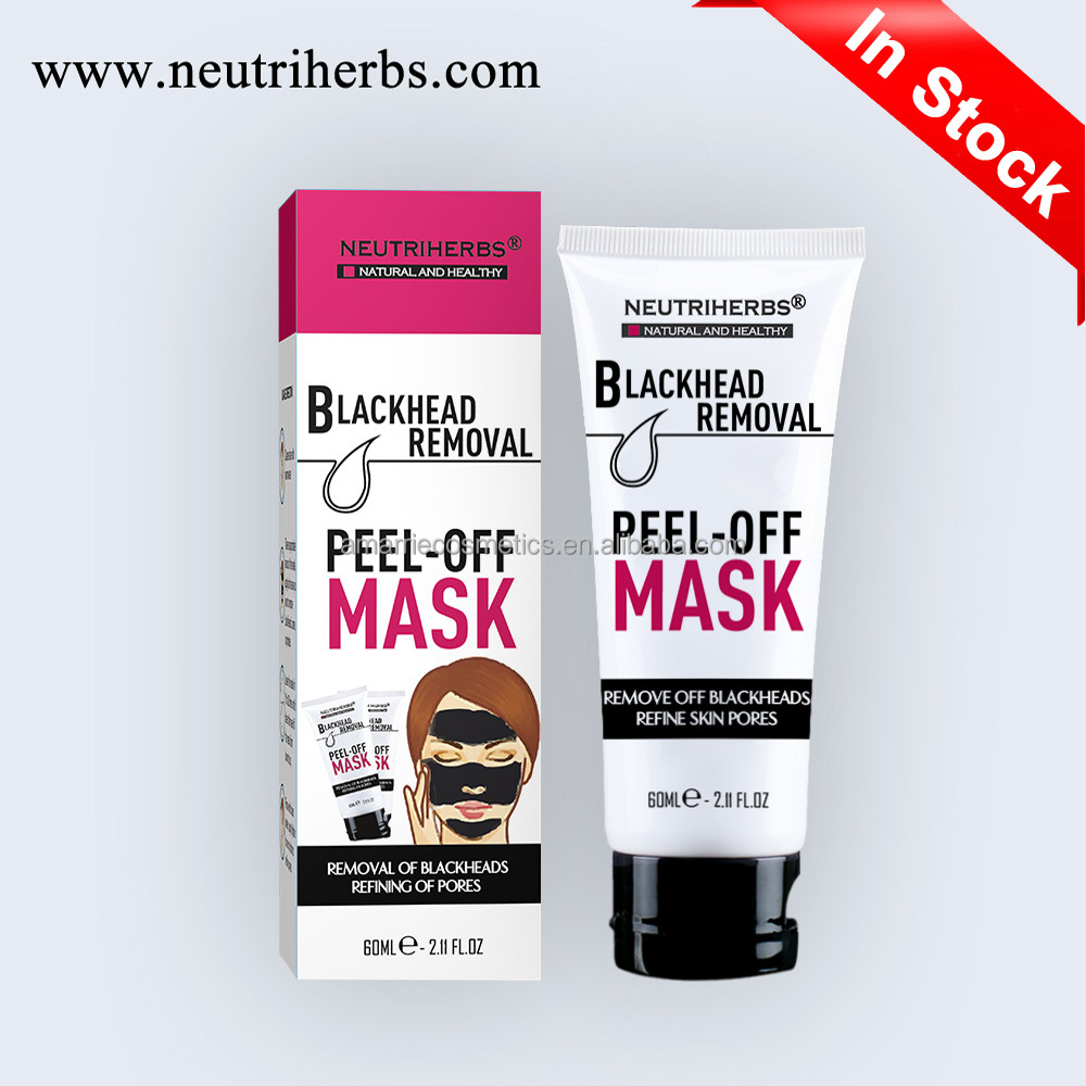 Best Superior Acne Removal Peel-off Mask Pimple Remover Black Mud Face Mask Charcoal Mask