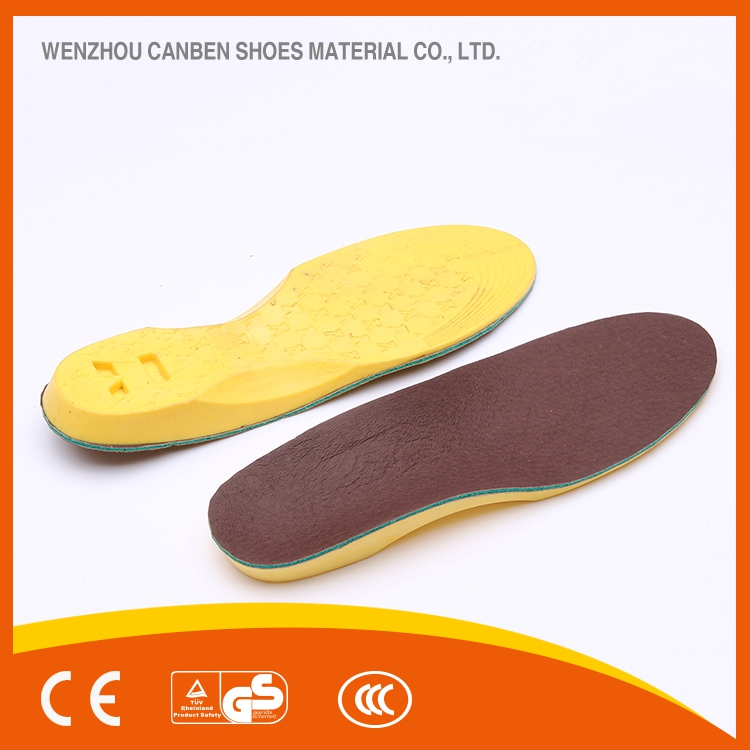 HEIGHTEN breathable comfort pu you poron insole