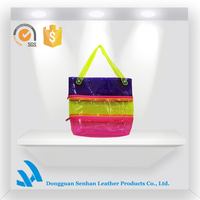 Folding cute shopping side bag for girls