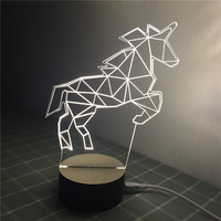 3D Table Lamp LED Night Light