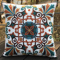 2017 New Embroidery Decorative Cushion Cover
