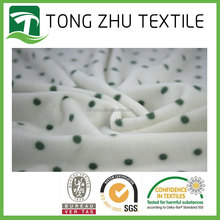 comfortable high quality 100% Polyester printed low pile plush fabric