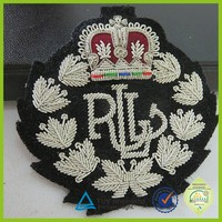 high quality custom bullion embroidery patches
