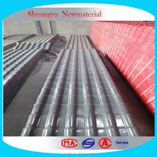 High Pitch 3 Layer UPVC Roofing Tile/Anti-Corrosion PVC Roof Sheets/Synthetic Resin Roofing Cover