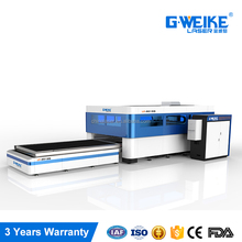gweike factory price big power 1500x3000mm laser cutter machine cutting metal carbon fiber machine