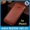 belt clip holster case for iphone 6 genuine leather case high quality