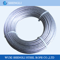 Galvanized Steel Wire Rope Bike Brake Cable