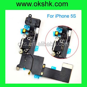 New china products hot sale Charger Flex Cable for iphone 5s