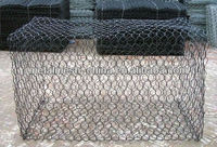 high quality&reputation low price gabion stone cage box