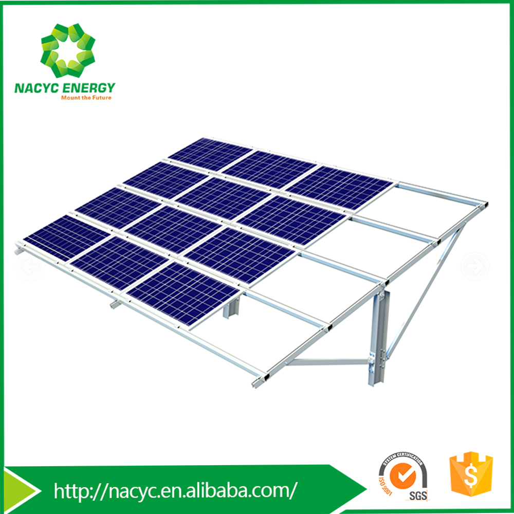 Durable Ground PV Solar Racking System Metis SP Used As PV Solar Panel Structures & Support