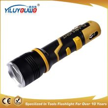 The best choice factory directly wall mounted emergency rechargeable flashlight