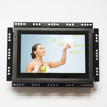 7 inch vga input small outdoor readable capacitive touchscreen display