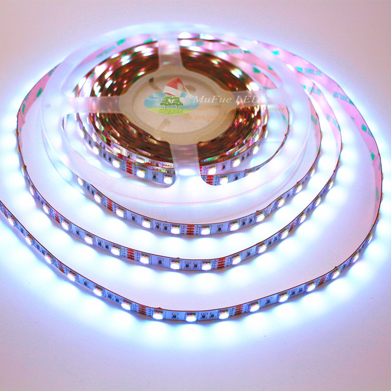 Top quality led flexible string light 5050 60leds dc12v/24 volt best fpcb RGB led strip for European and American markets