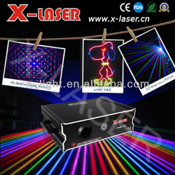 1W animation laser projector christmas/effect sky laser light with free programming software