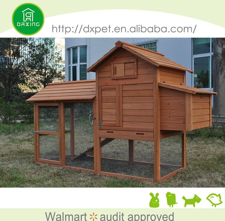China supplier large size portable wooden layer cages