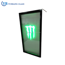 Monster Energy Drink Display Fridge/Freezer/Refrigerator Glass Door